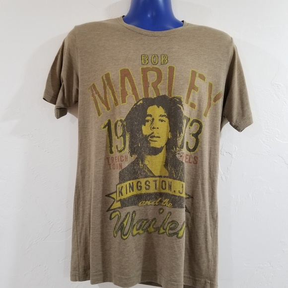 Bob Marley Wailers Shirt Super Soft Old School